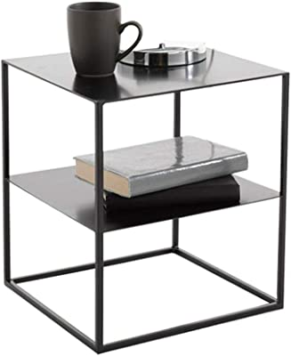 Amazon.com: TAESOUW-Home Modern Tables Gloss Wood Coffee ...