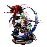 Anime One Piece Wano Country Roronoa Zoro Cuchillo De Nieve Ver.con Figura De Acción De PVC Ligera ...