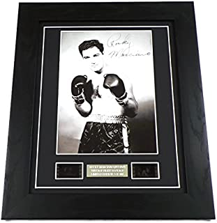 Rocky Marciano Signed + Vintage Fight Footage