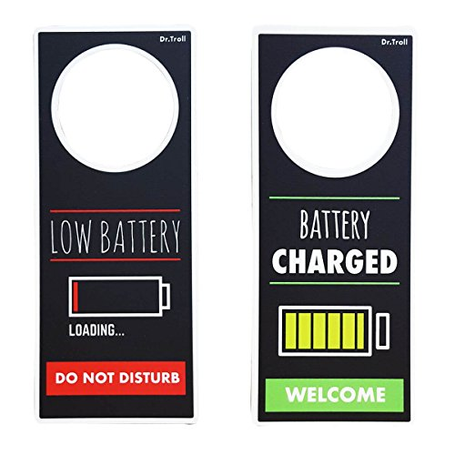 Framan Poming (Colgador para pomos) Low Battery - Battery Charged