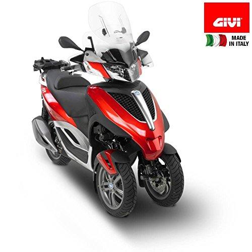 Tourenscheibe Givi Airflow Piaggio MP3 Yourban 125/300/ LT 11-13 klar