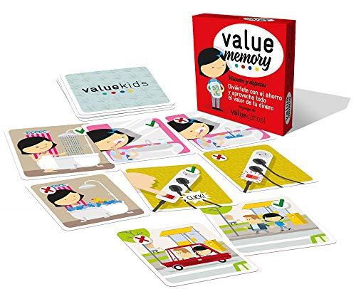 Value School Memory Value | Juego de Cartas de la colección