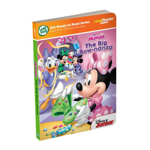 LeapReader – Livre Junior - Disney Minnie Mouse - The Big Bow-Nanza - Edition Anglaise (Import UK)