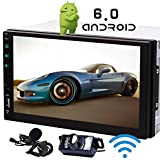Android 7.1 Stereos 7-Zoll-Touch-Screen-Doulbe din GPS Car Head Unit Octa-Core Autoradio Audio Receiver in Dash 1080P Video Sat Navi WiFi Bluetooth RDS SD/USB / 4G / 3G / OBD2-Top-Autoradio