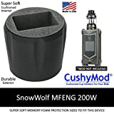 SnowWolf MFENG 200W CUP HOLDER by CushyMod cover wrap skin sleeve case car mod vape kit