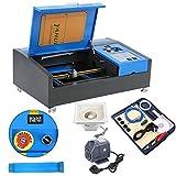 Samger 40W CO2 Macchina per Incisione Laser da Taglio 300x200mm Laser Taglierina 220V Laser Engraver con porta USB Strumenti di lavorazione del legno di opere d'arte