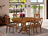 7 Pc Dining room set-and Oval Dining Table...
