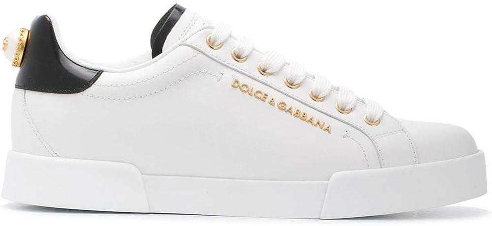 Dolce & gabbana sneakers da donna in pelle luxury fashion CK1602AH50689662