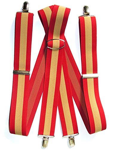 GLOSAN Tirante Bandera Española 40 adulto 180/190