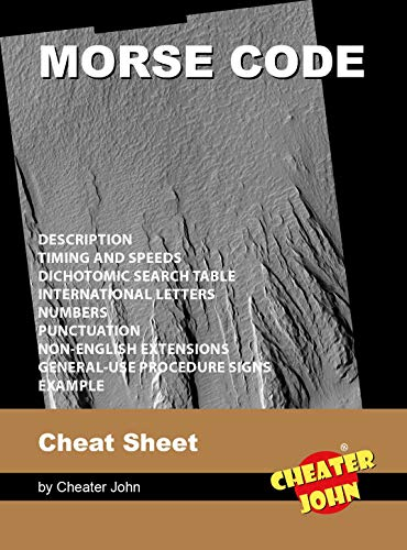 Morse Code Cheat Sheet (Morse Code Puzzles) (English Edition)
