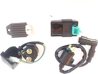 AH Ignition Coil Solenoid Relay Voltage Regulator CDI for 50cc 90cc 110cc 125cc Taotao Scooter ATV Dirt Bike and Go Kart