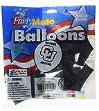Pioneer Balloon Company 10 Count University of Colorado Latex Balloon, 11', Multicolor
