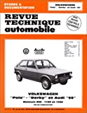 E.T.A.I - Revue Technique Automobile 363.2 - AUDI/- VOLKSWAGEN 50/POLO I - 1975 à 1983