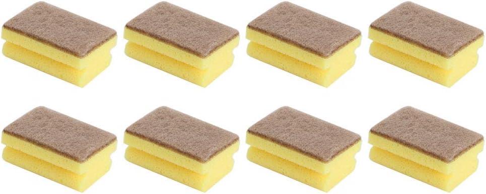 Ufolet 8 Piezas de Esponja para Fregar, Esponja de Limpieza, Tablas de Cortar, Campanas extractoras para Lavar Platos, ollas de Uso de Cocina, Estufa, fregaderos