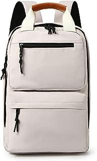 Kemelo Zaino per Laptop per Uomo Donna Computer Scuola Viaggi Business Borse Daypack,Zaino per Laptop,Beige