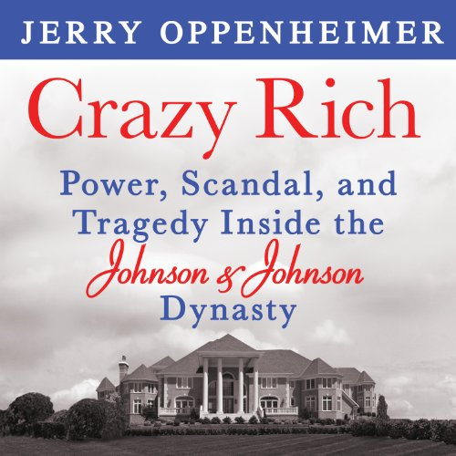 Crazy Rich audiobook cover art