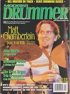 Modern Drummer Magazine (January 1999) (Matt Chamberlain -Doin' It All With Tori Amos, Fiona Apple & Wallflowers)