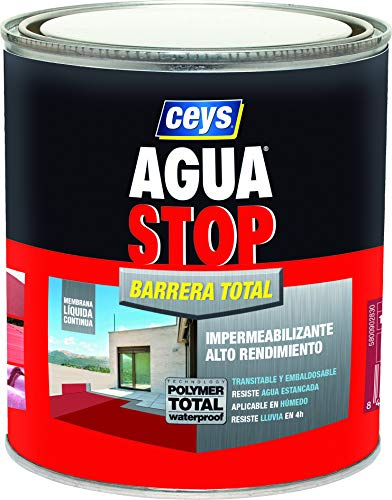 AGUA STOP BARRERA TOTAL CEYS 1KG GRIS CLARO
