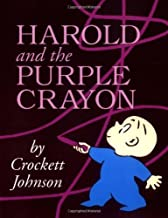 Harold and the Purple Crayon 50th Anniversary Edition (Purple Crayon Books) by Johnson, Crockett (1st (first) Edition) [Paperback(1998)]
