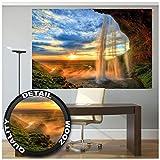 GREAT ART XXL Poster – Wasserfall – Wandbild Dekoration
