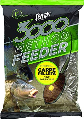 Sensas - 3000 Method Carpe Pellets 1Kg - 70721