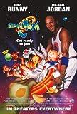 Inked and Screened Filmposter Space Jam, Michael Jordan