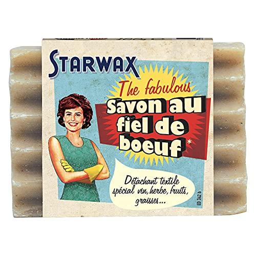 STARWAX FABULOUS Savon au Fiel de Boeuf - 100g - Idéal pour Éliminer Toutes les Taches Tenaces