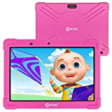 Contixo 10 Inch Kids Learning Android Tablet with Parental Control 16GB for Children Infant Toddlers at Home School - Pre-Loaded Educational Apps - Child-Proof Case - Great Gift for Kids (Pink)