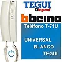 Tegui T-71U Universal - Teléfono, Blanco
