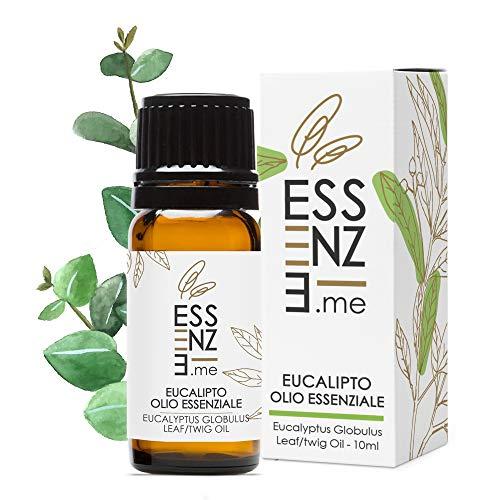 ESSENZE OLIO ESSENZIALE DI EUCALIPTO Puro al 100{3ccb3015215b9878f5cb373def8c395ada39d382bd6314200b6d20ab3bd51b7f} Naturale, Profumo Ambiente Aromaterapia Per Diffusori, INCI Eucalyptus Globulus Leaf Twig Oil. Controllato e Confezionato in ITALIA.