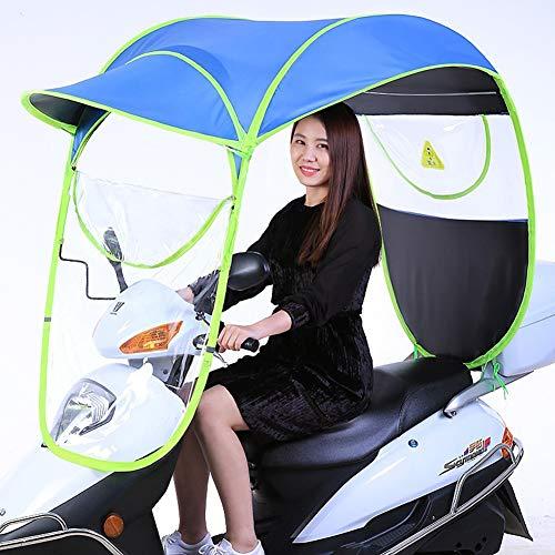 Universele fiets elektrische opvouwbare waterdichte paraplu, (voor type met spiegel) Scooter regen waterdichte hoes, zonnescherm regenhoes