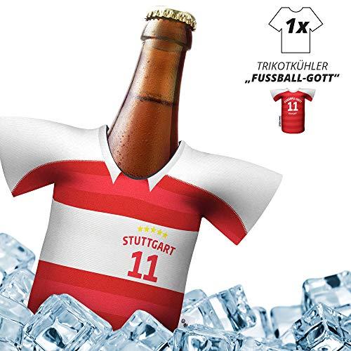 Herren Trikot 2019/20 kühler Home für. VfB-Fans | FUßBALL-Gott | 1x Trikot | Fußball Fanartikel Jersey Bierkühler by ligakakao.de