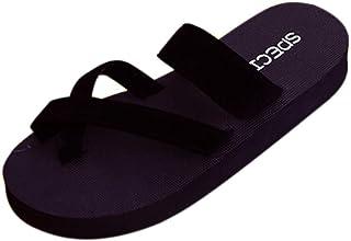 witspace Womens Summer Flip Flopsスリッパオープントウサンダルフラットビーチ靴