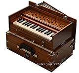 harmonium raga kirtan mini, 2.5 ottave portatile, modello alta qualità, 2 set di ance suono dolce e profondo