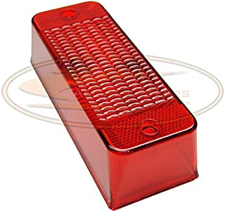 Red Rear Taillight Lens for Bobcat Skid Steers Replaces OEM # 6672276