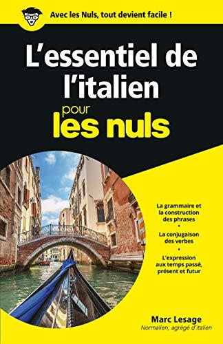 Lessentiel De Litalien Pour Les Nuls Par Marc Lesage