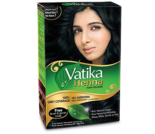 Henné noir pour cheveux Vatika