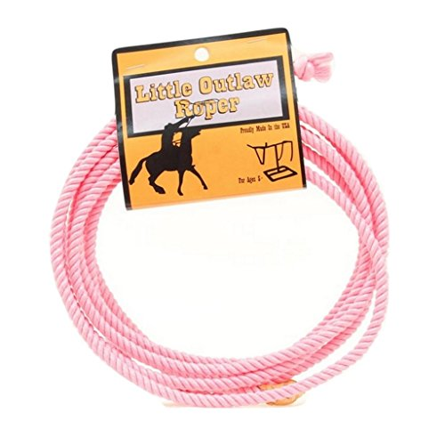M & F Western Girls' Little Outlaw Lasso Rope Pink One Size