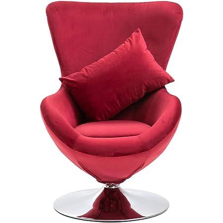 vidaXL Samtsessel Relaxsessel Fingersessel Sofa Designer Handsessel Handform