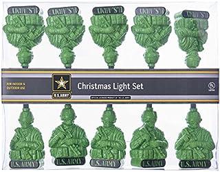 Kurt S. Adler UL 10 U.S. Army Light Set