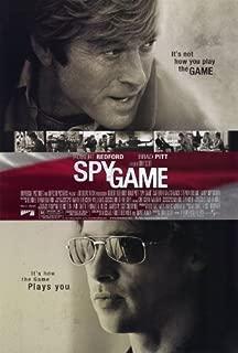 Spy Game Movie Poster (27 x 40 Inches - 69cm x 102cm) (2001) -(Robert Redford)(Brad Pitt)(Catherine McCormack)(Stephen (Dillon) Dillane)(Larry Bryggman)(Michael Paul Chan)