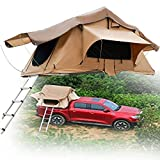 SUNWEII Rooftop Tent,Truck Bed Tent 8ft Pickup Truck Tent,Car Tents for Camping SUV,Self-Drive Tour Vehicle Soft top car Tent rain and Sun Protection Tent