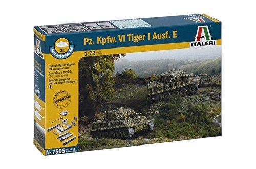 Italeri 510007505 - 1:72 PZ KPFW VI Tiger I Ausf E