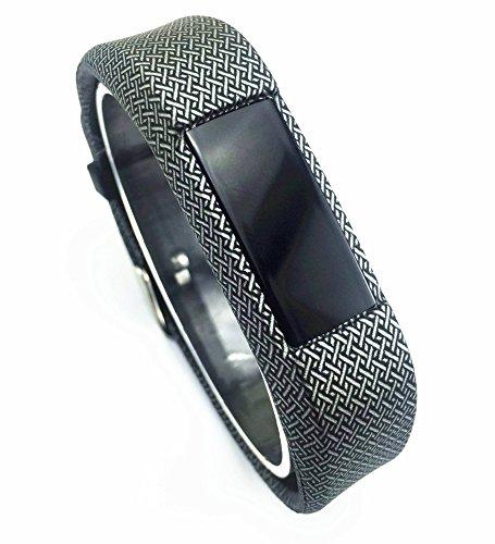 Fitbit Alta Classic 用 交換リストバンド X-TECH Fitbit Alta スポーツ アウトドア 機能性インナー アクセサリー リストバンド fitbit Alta交換用band (Flower-01)