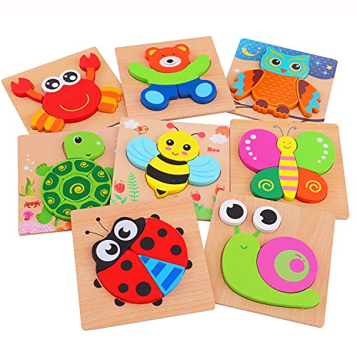 AOLIGE Wooden Jigsaw Puzzles