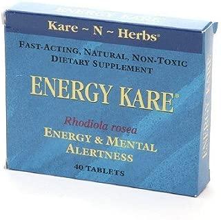 KARE-N-HERBS ENERGY KARE, 40 TAB by Kare-N-Herbs