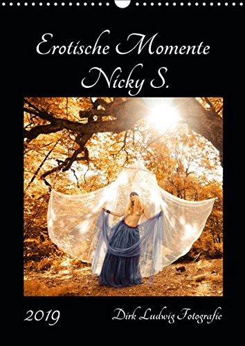 Erotische Momente Nicky S. (Wandkalender 2019 DIN A3 hoch): Fotomodel Nicky S. - Dirk Ludwig Fotografie (Monatskalender, 14 Seiten ) (CALVENDO Menschen)