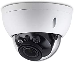 4MP Varifocal Poe IP Security Camera IPC-HDBW4433R-ZS 2.7mm~13.5mm Lens Motorized 5X Optical Zoom Outdoor Indoor Video Surveillance Camera Dome with 50m IR Night Vision,H.265,IK10,ONVIF,IP67