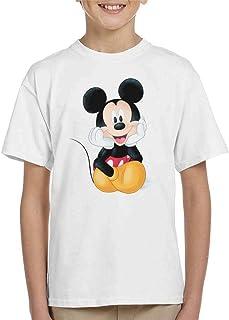Disney Mickey Mouse Cute Sketch Kid's T-Shirt