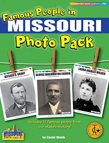 Famous People from Missouri Photo Pack (12) (Missouri Experience)